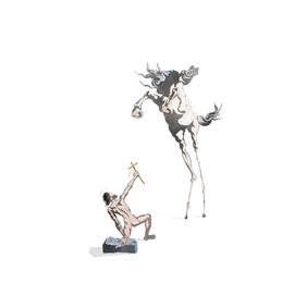 La Tentation de Saint Antoine - Salvador Dalí