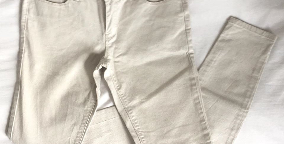 Woolworths cream jeans