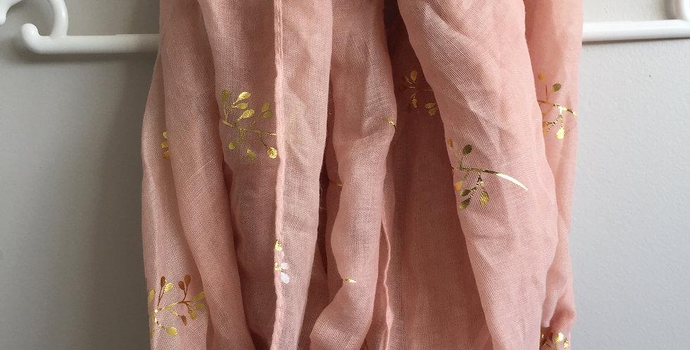 MrP pink scarf