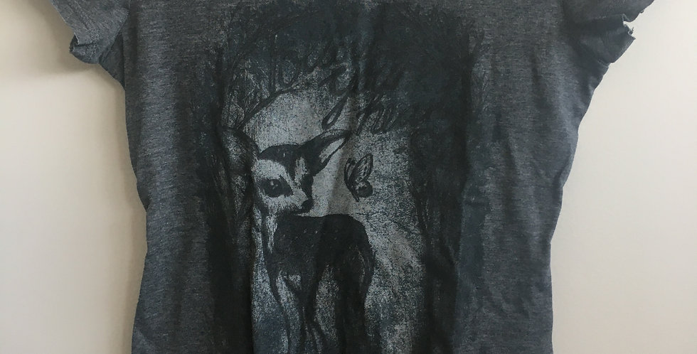 instinct grey short sleeve