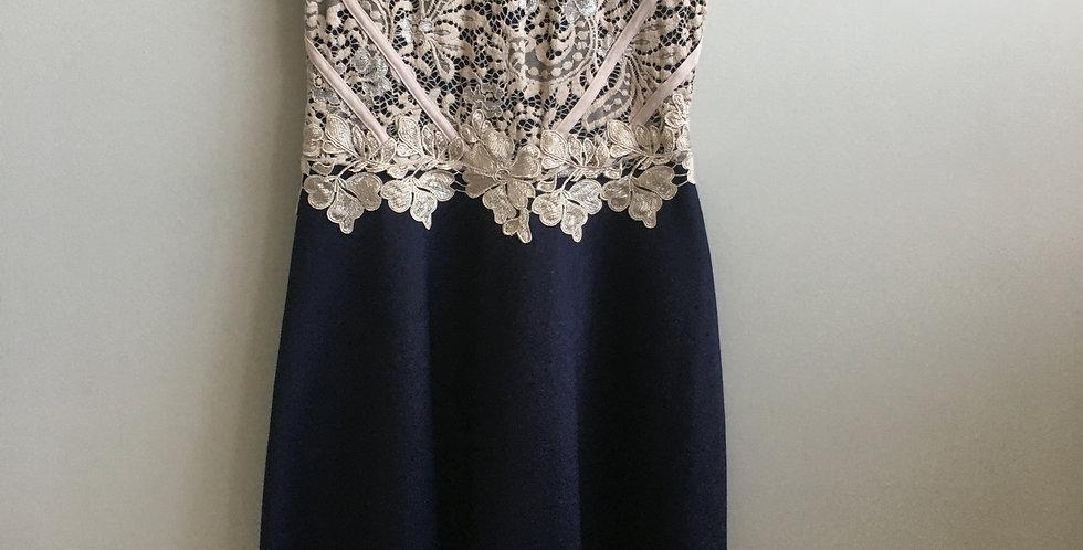 essence truworths navy dress