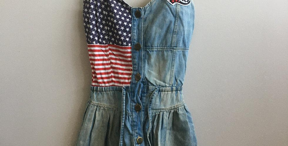 pretty club denim american dress