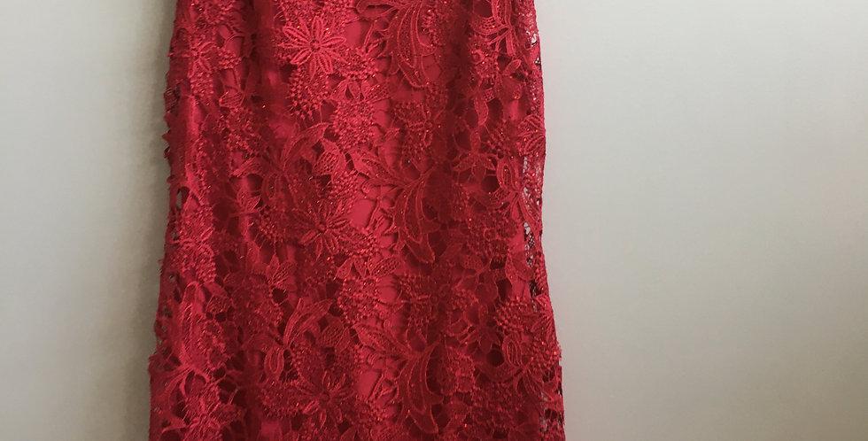 Foschini red lace dress