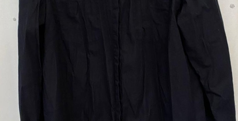 Woolworths black dress top