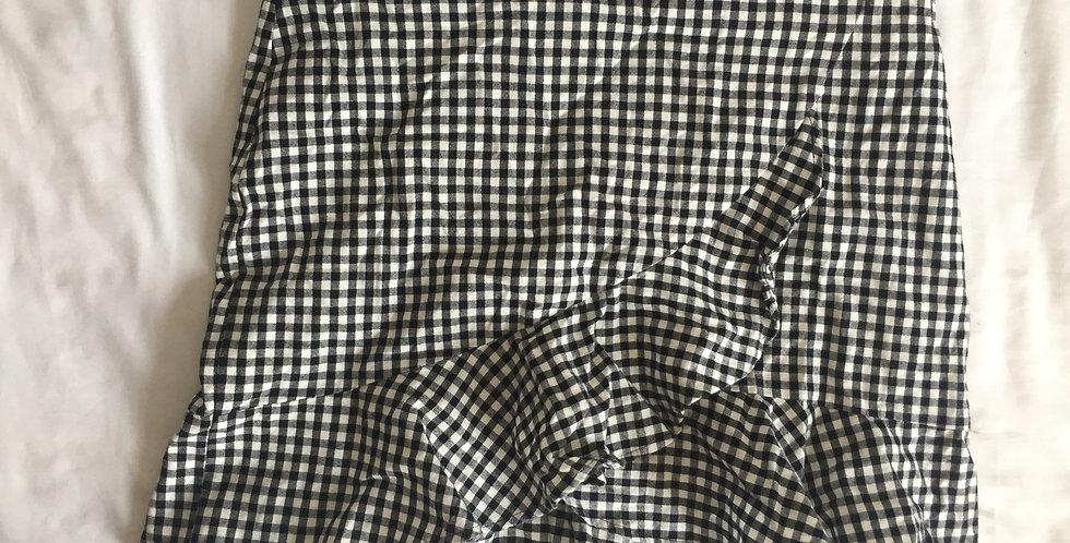 MrP checkered skirt