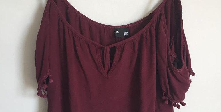 MrP maroon shirt