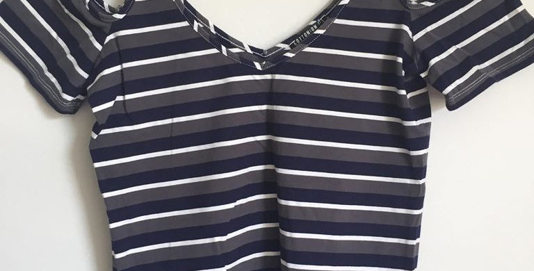Cotton on stripped top