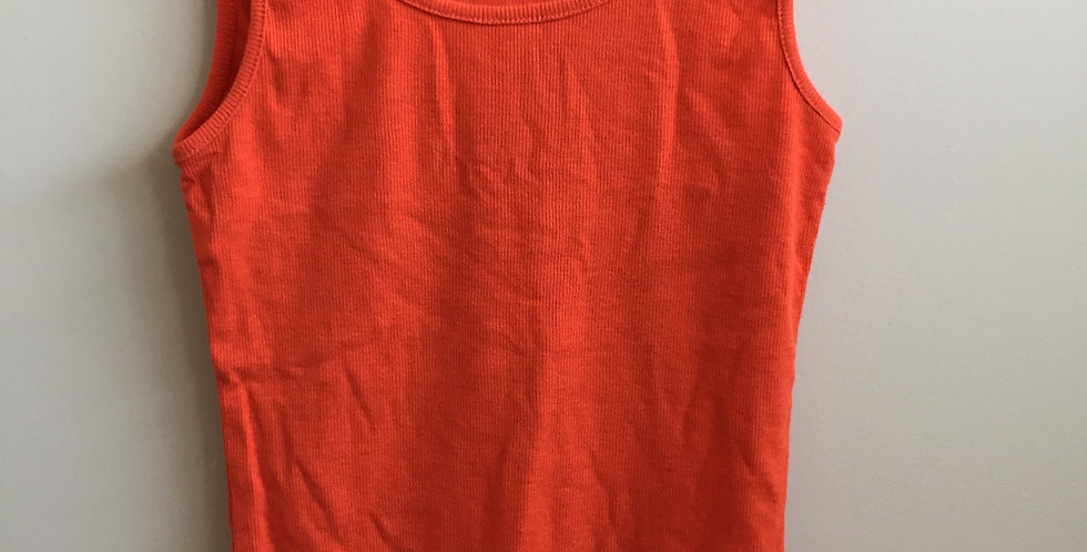 Cotton on orange tank top