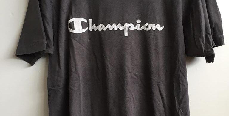 Champion brown tee