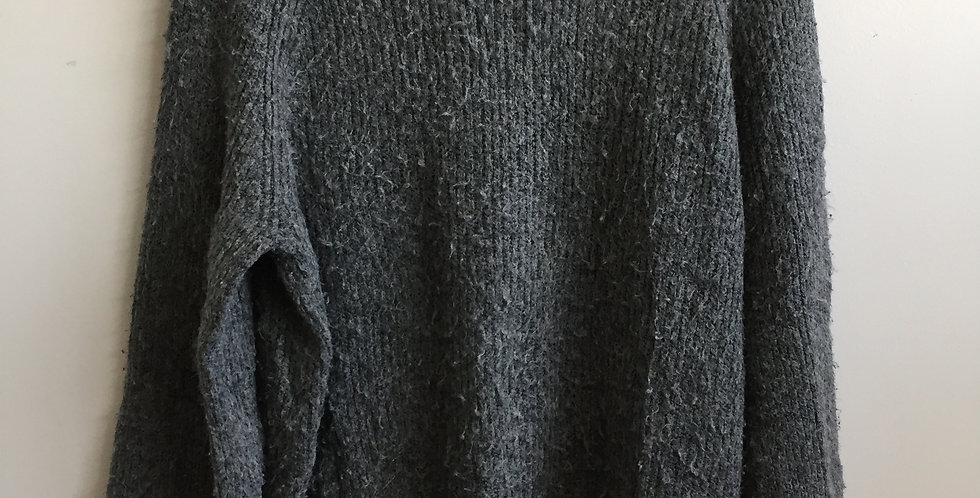 Topshop Grey knitted jersey