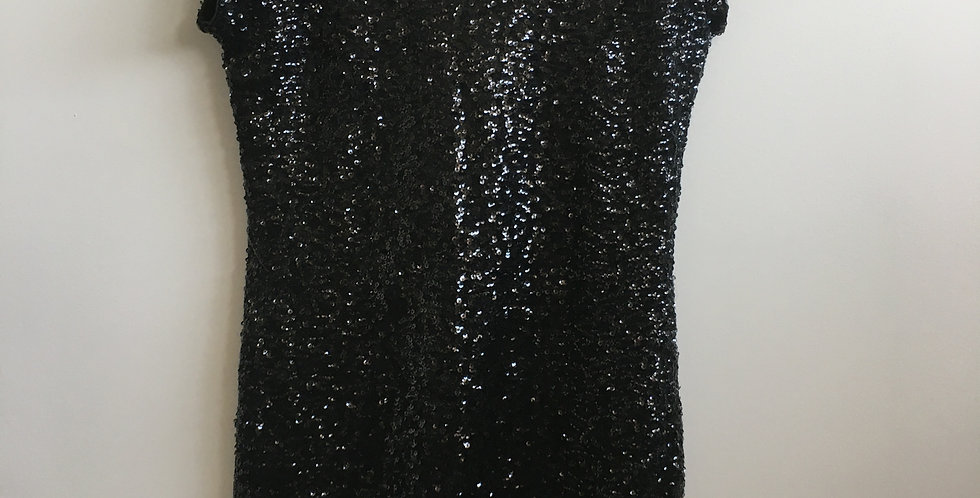 HnM black sequence cocktail dress