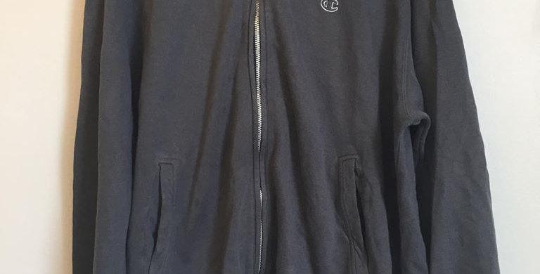 Champion charcoal grey hoodie