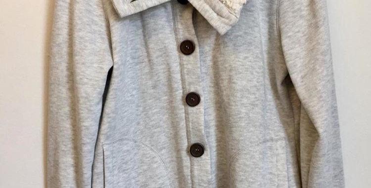 Woolworths grey wool cardigan