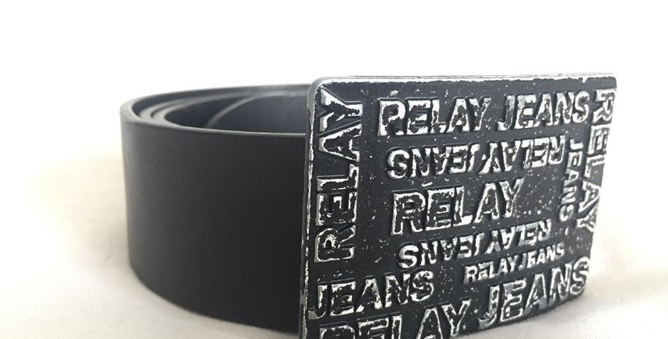 Relay jeans genuine leather belt