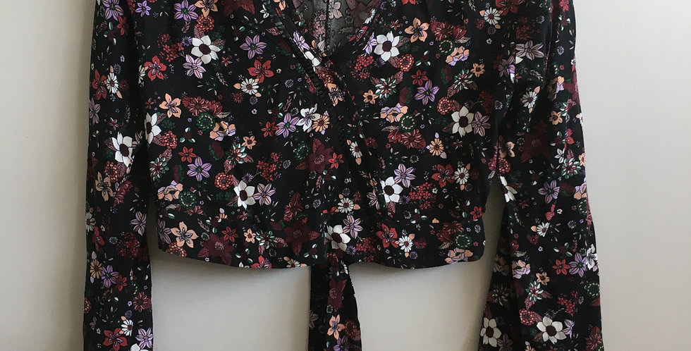 mrp long sleeve flower shirt