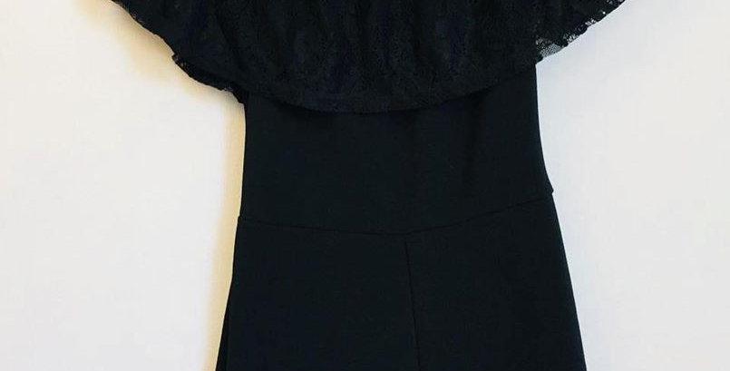 MrP black lace jumpsuit