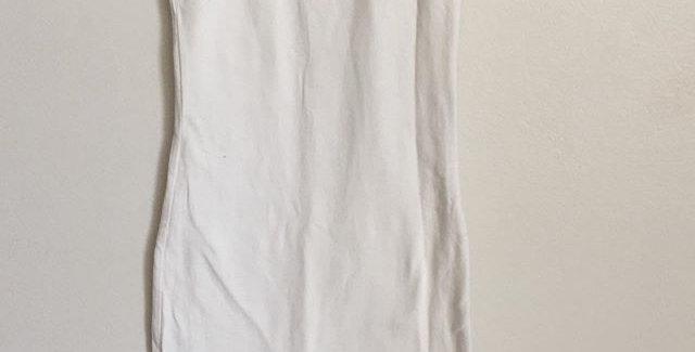 Real Clothing white midi dress