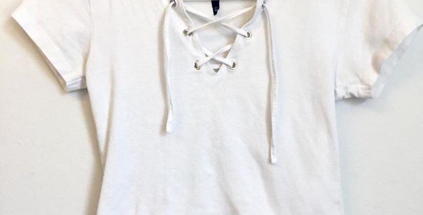 MrP white crop top