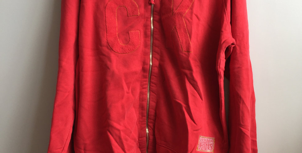 Calvin Klein red sweatshirt