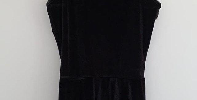 Cotton on short black dress NEVER WORN