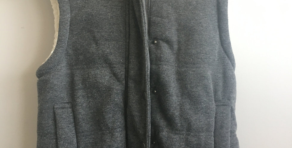 cotton on jersey grey sleeveless