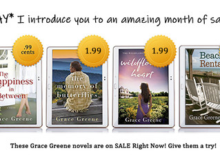 BEACH READS SALE!! (Wherever you happen to be reading this weekend!)