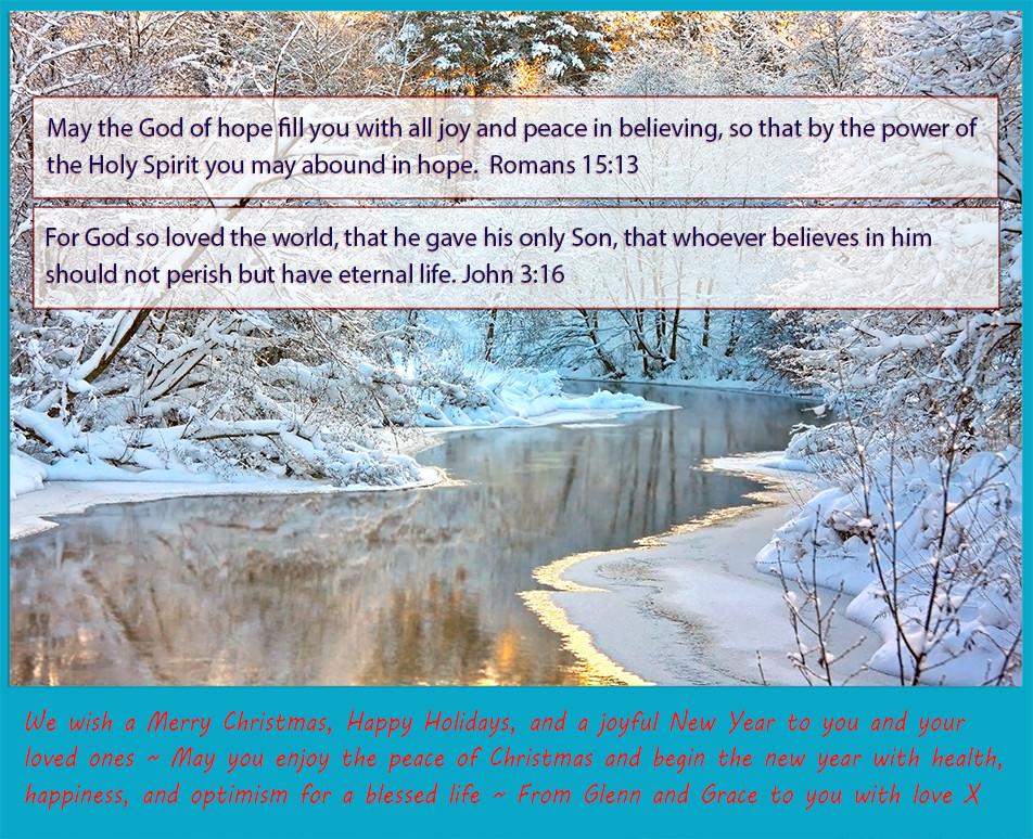 Merry Christmas ~ John 3:16