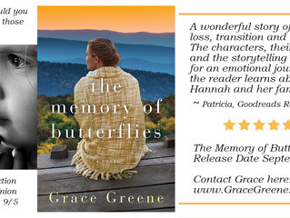 The Memory of Butterflies ~ Countdown 27 Days