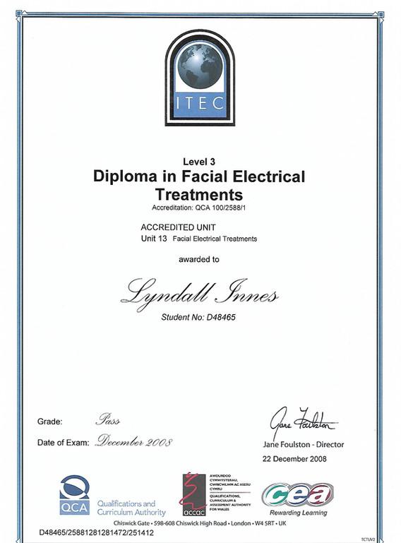 ITEC facial electricals.jpg