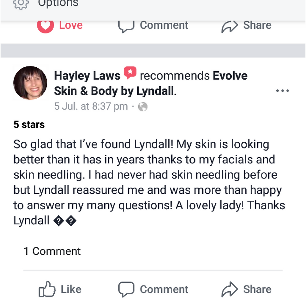 Skin needling perth recomendation