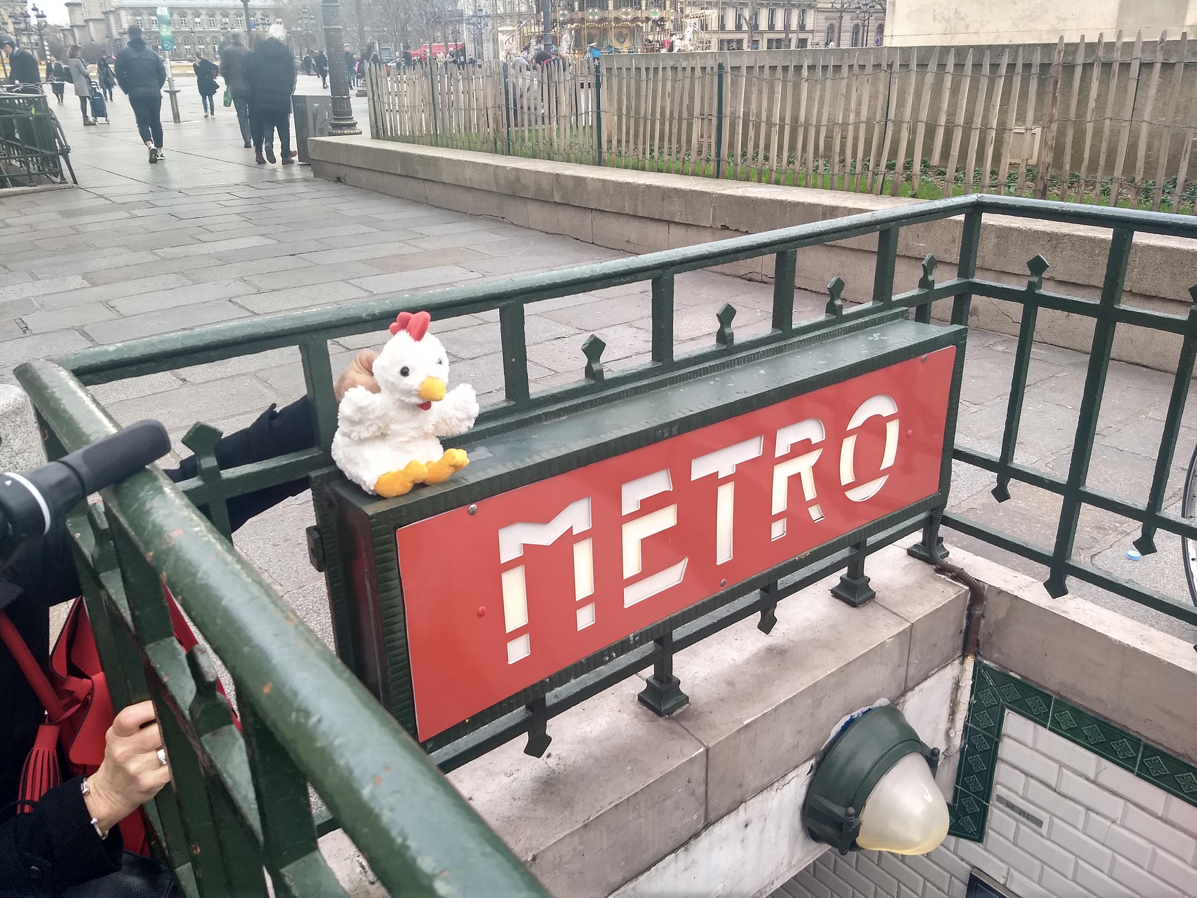 Coco en metro