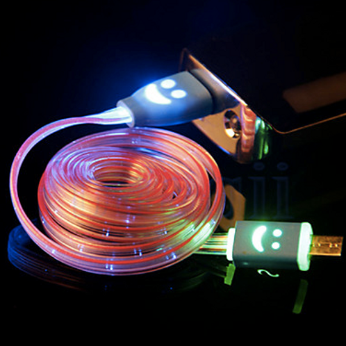Cable USB LED datos / cargador