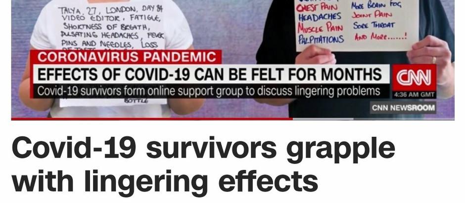 LongCovidSOS film on CNN