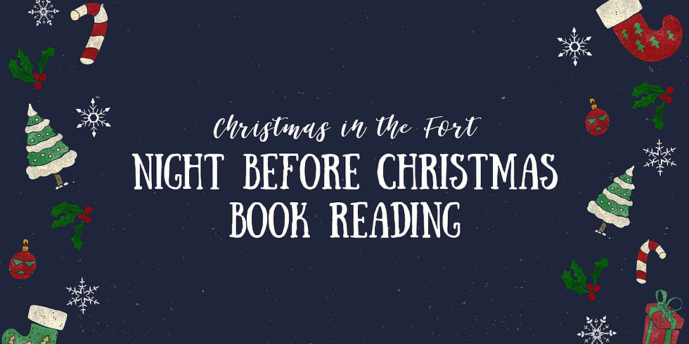 Night Before Christmas Book Reading