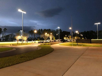 integrity park at night