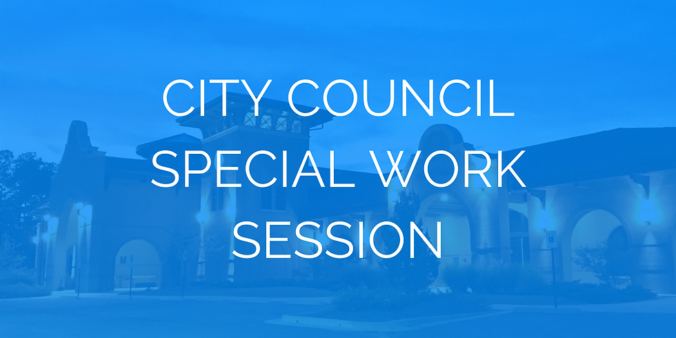 City Council Special Work Session