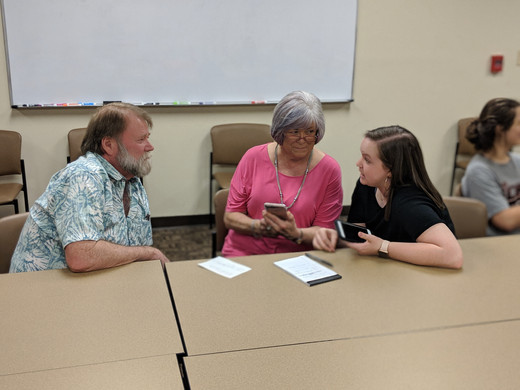 cyber seniors, where local high school students help senior citizens with all their technology woes