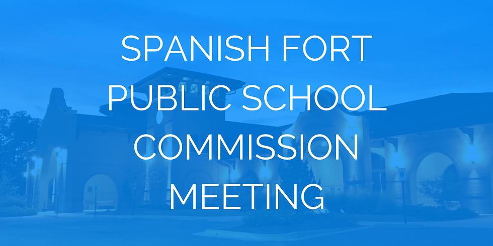 Spanish Fort Public School Commission Meeting