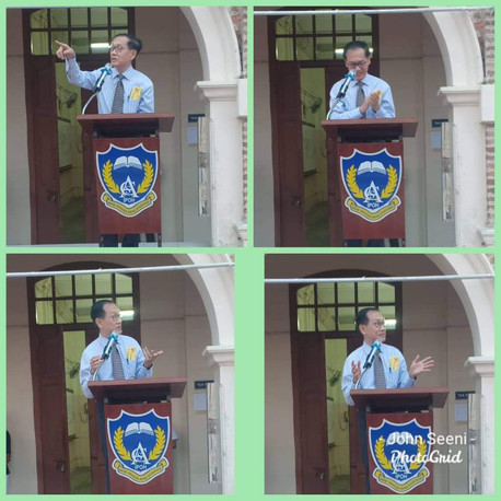 ACS Prefects & Librarians Installation_
