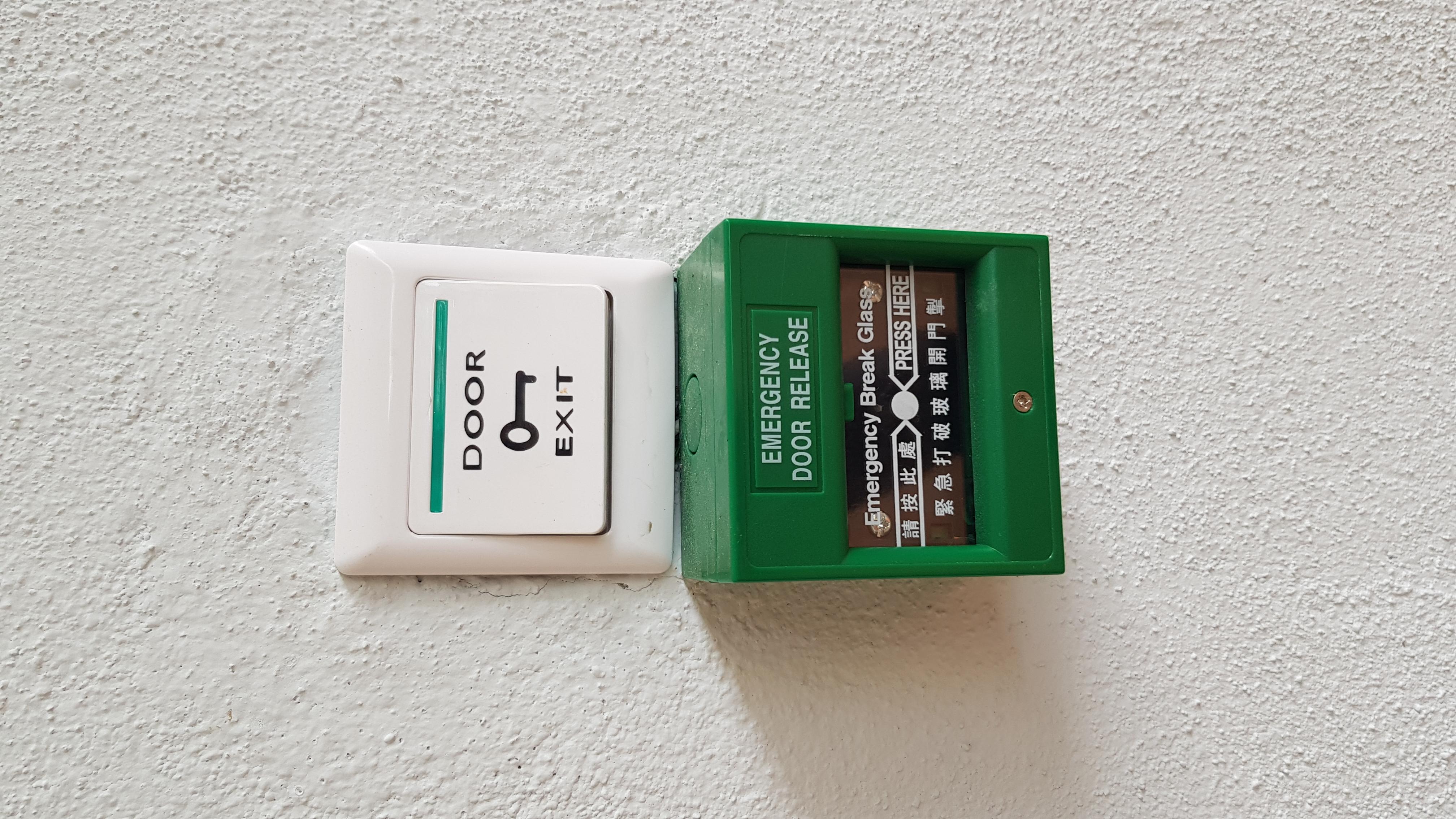 Emergency escape button