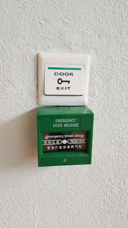Emergency escape button
