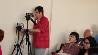 Video recording session_