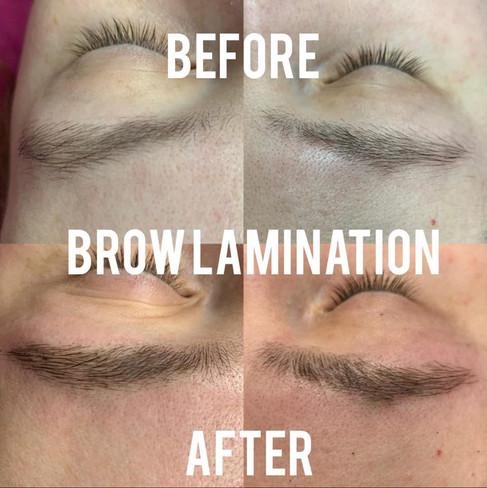Brow Lamination chromatic beauty