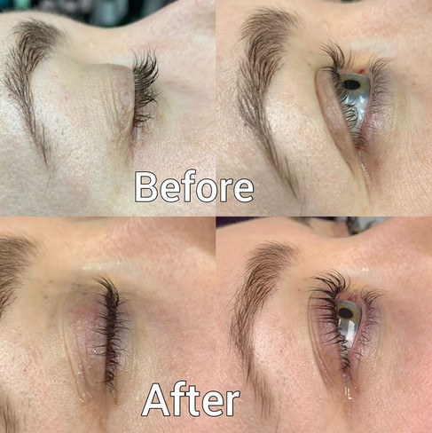 Lash Lift and Tint chromatic beauty