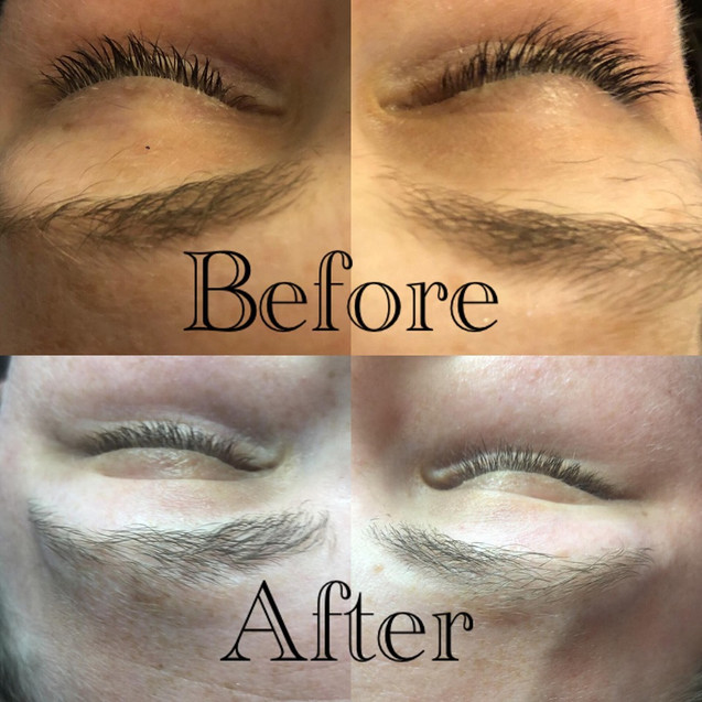 Brow wax and tint chromatic beauty
