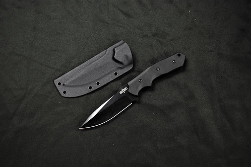 "S-TEC 9.5"" G10 Tactical Knife with Kydex Sheath (T22009)"