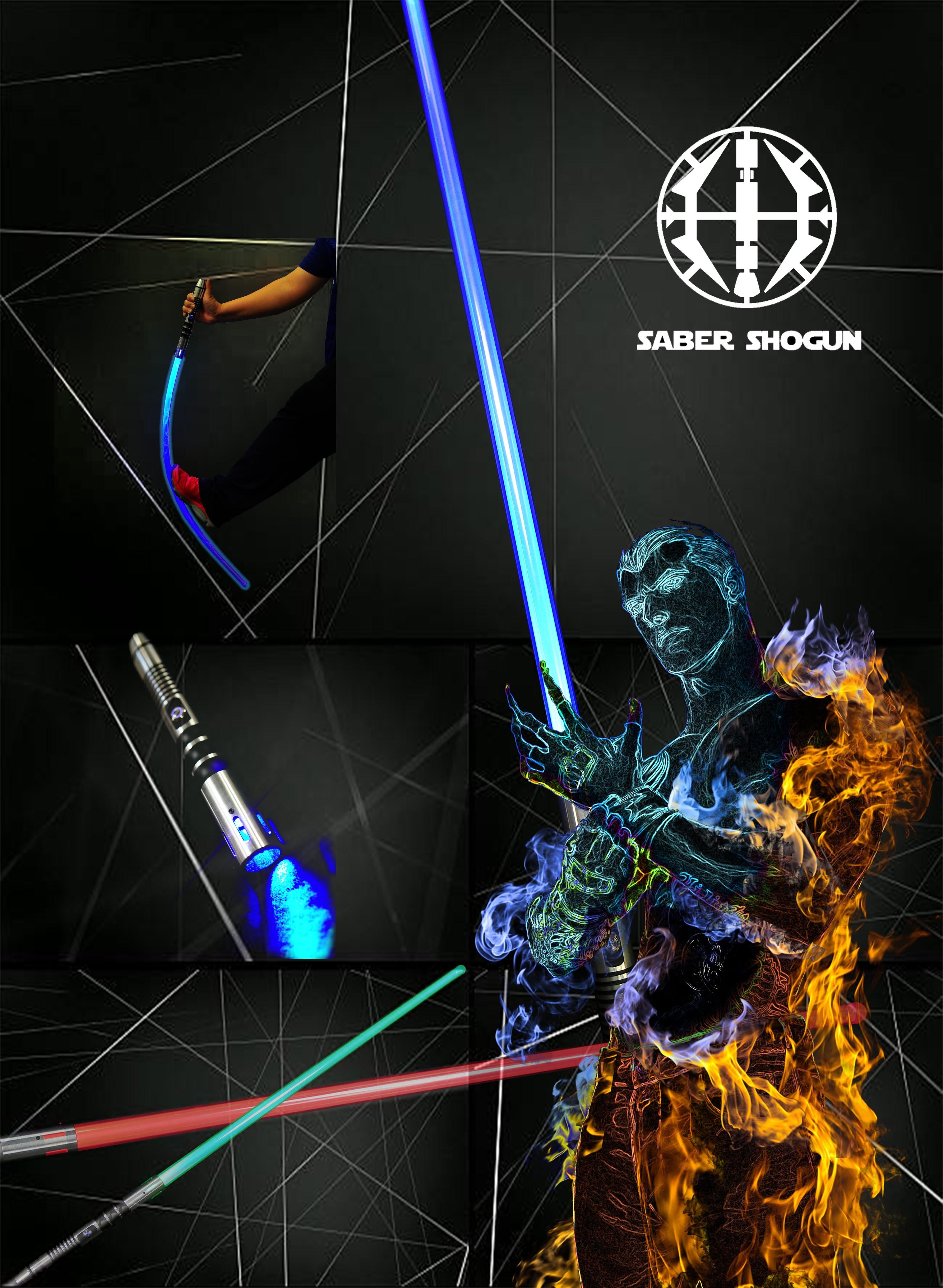 Saber Shogun Poster 1