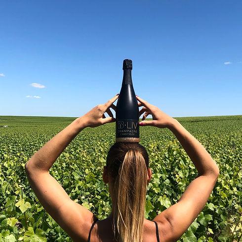 Estelle Hecht Vigneronne Champagne BLIV.
