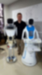 robot waiter and tour guide 20180402_190