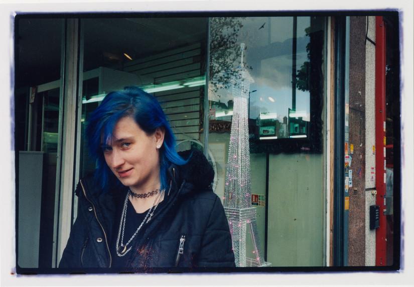 Blue Girl, Holloway road